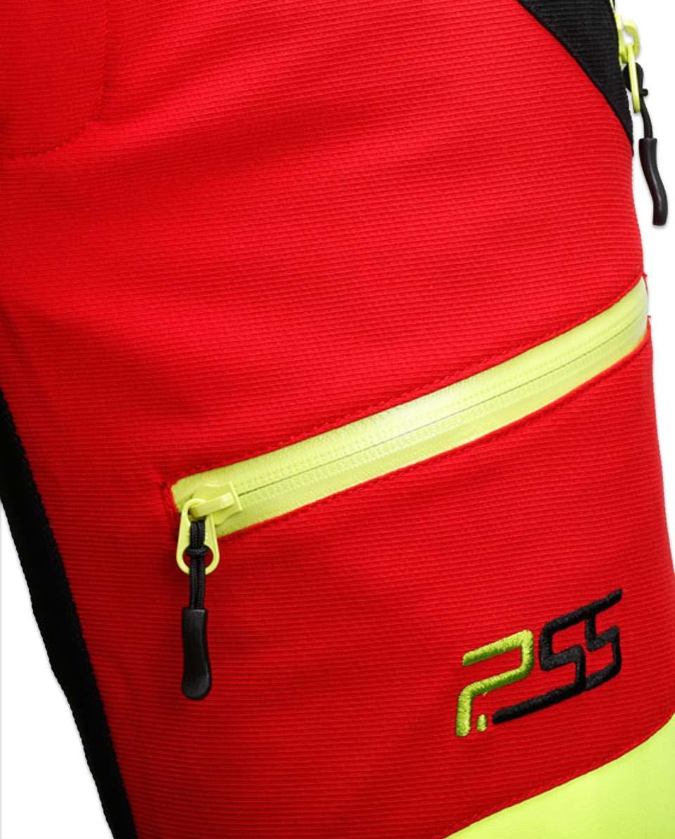 X-treme Air Schnittschutzhose rot/gelb Bild 4