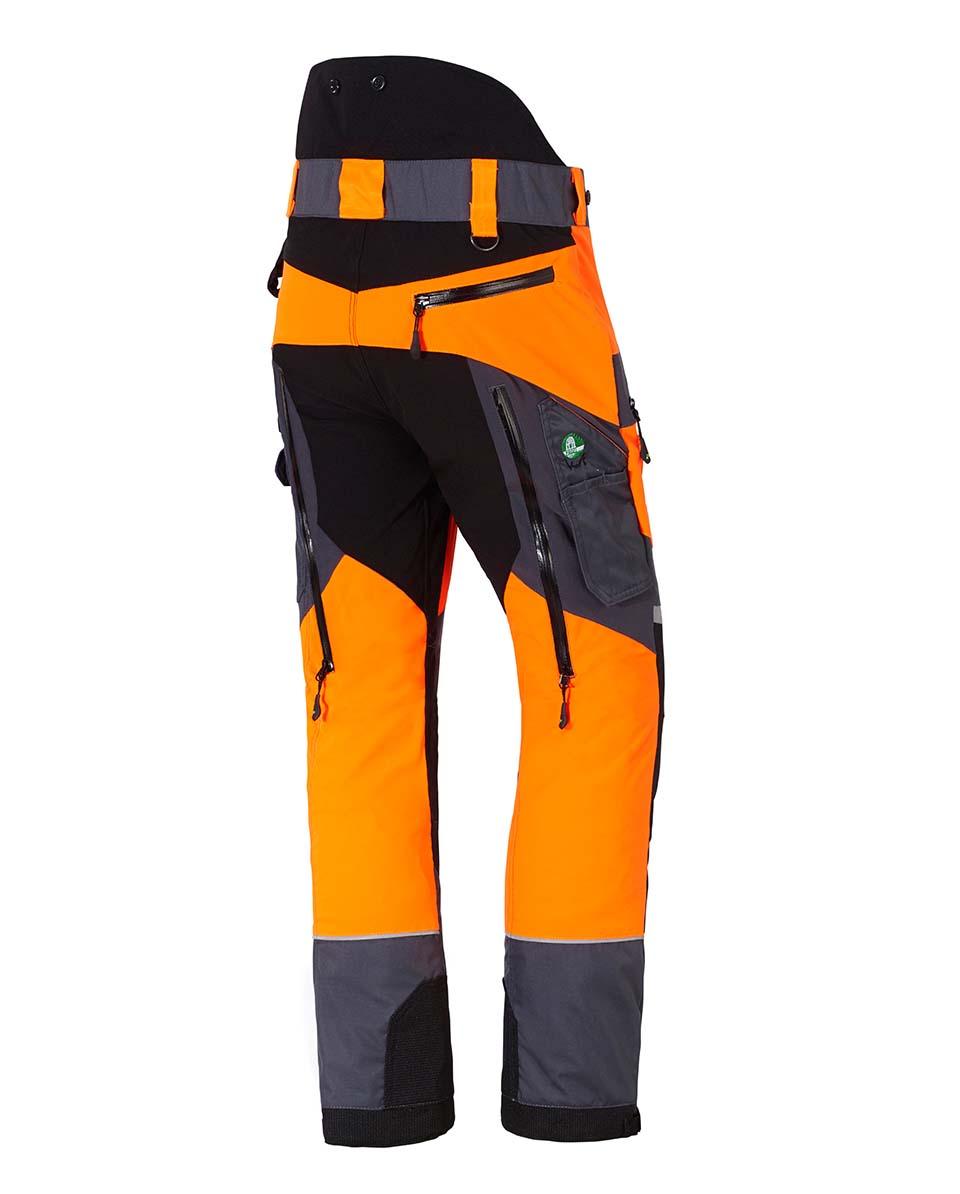 X-treme Air Schnittschutzhose orange/grau Bild 3