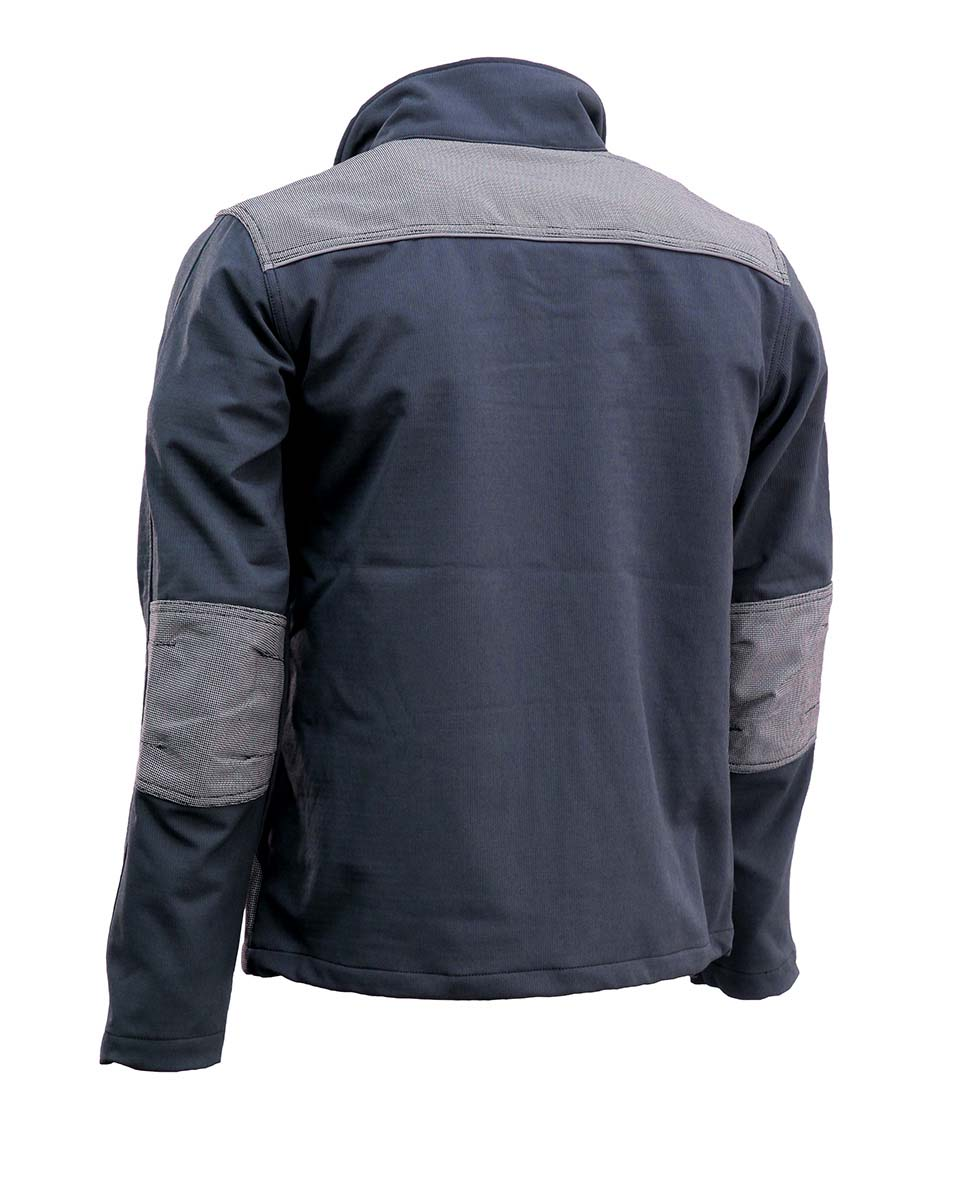 JOBMAN Profi-Softshell-Jacke 1248 Grau Bild 3