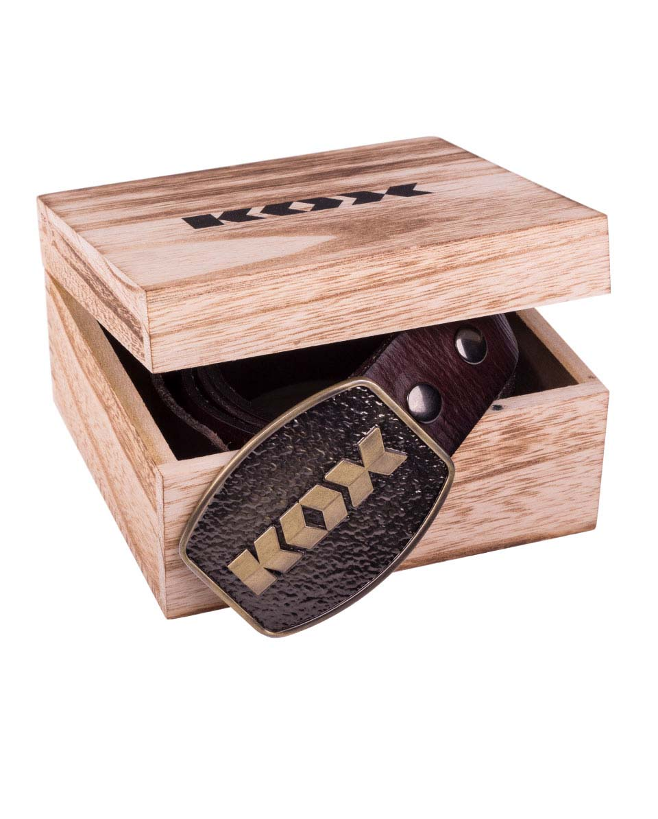 KOX Ledergürtel Bild 4