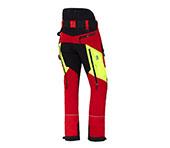 X-treme Air Schnittschutzhose rot/gelb Bild 3