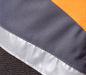 X-treme Air Schnittschutzhose orange/grau Bild 5