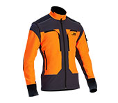 X-treme Vario Funktionsjacke in orange/grau