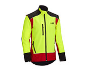 X-treme Vario Funktionsjacke in rot/gelb